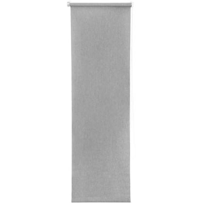 Штора рулонная Inspire Меланж 40х160 см цвет серый