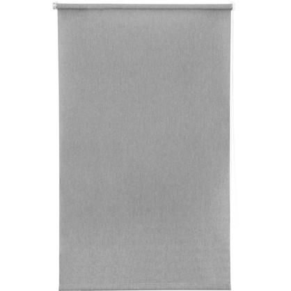 Штора рулонная Inspire Меланж 80х160 см цвет серый
