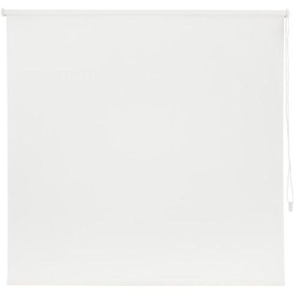 Штора рулонная Inspire Шантунг 140х175 см цвет белоснежный
