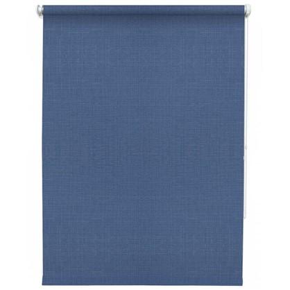Штора рулонная Inspire Шантунг 140х175 см цвет синий
