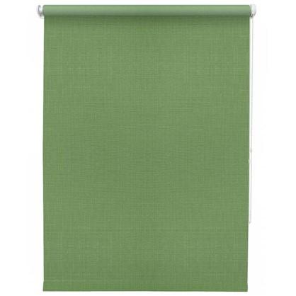 Штора рулонная Inspire Шантунг 140х175 см цвет зеленый