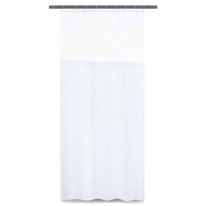 Шторка для ванной Hotel 180х180 см цвет белый