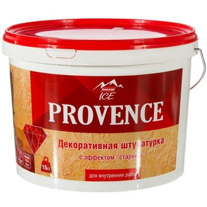 Штукатурка декоративная Parada Ice Provance 15 кг цвет белый