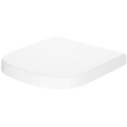 Сиденье для унитаза Euro Ceramic дюропласт микролифт цвет белый