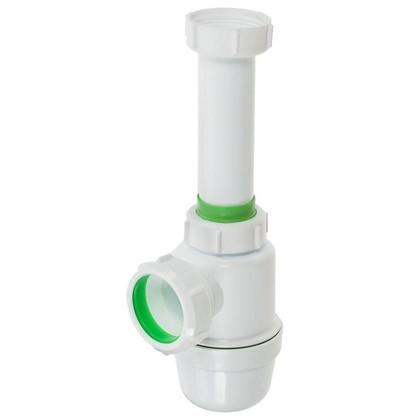 Сифон для раковины без выпуска слив d 40 мм