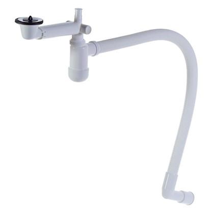 Сифон для раковины Equation с отводом для стиральной машины d 40 мм