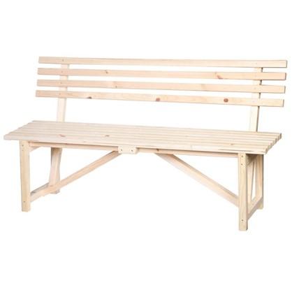 Скамейка со спинкой 1.5 м