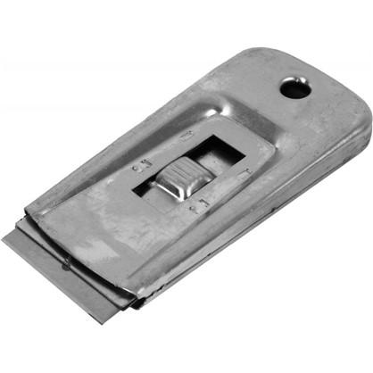 Скребок с выдвижным лезвием металлический корпус 40 мм