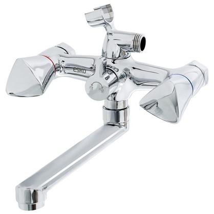 Смеситель для ванны Versal универсальный двухвентильный