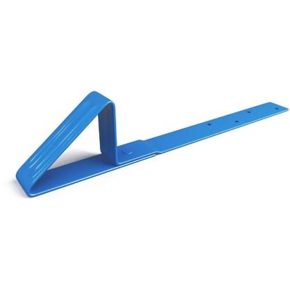 Снегостопор для мягкой черепицы цвет синий