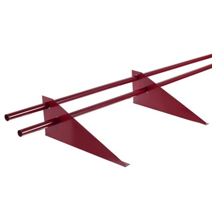 Снегозадержатель трубчатый универсальный 3 м цвет красный