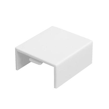 Соединение на стык 20/10 мм цвет белый 4 шт.