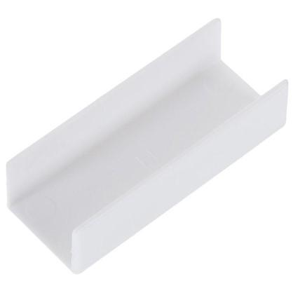 Соединитель для шины универсальный Inspire пластик цвет белый