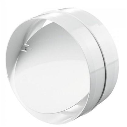 Соединитель круглых каналов обратного клапана D125 мм