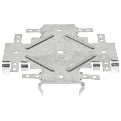 Соединитель потолочных профилей 60х27 мм одноуровневый (краб) Эконом 20 шт.