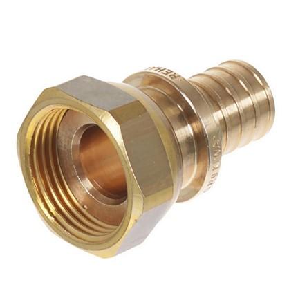 Соединитель Rehau RX 20х3/4 внутренняя резьба с накидной гайкой бронза