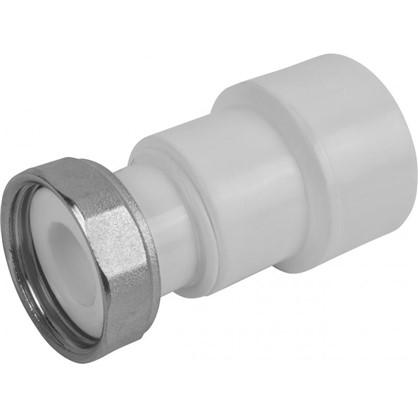 Соединитель с накидной гайкой 32х1 мм полипропилен