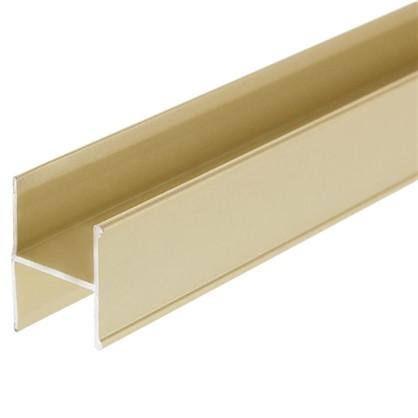 Соединительный профиль Н 1800 мм цвет золото