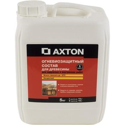 Состав огнебиозащитный Axton I-Iiгр бесцветный 5 кг