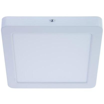 Спот накладной светодиодный квадратный 18 Вт диаметр 22.5 см свет холодный белый