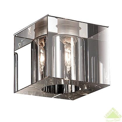 Спот встраиваемый Crystals G9х40Вт кубик прозрачный