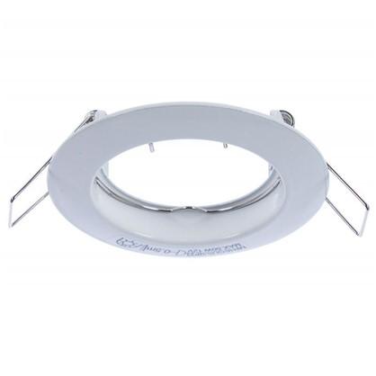 Спот встраиваемый круглый Inspire Feni цоколь GU5.3 алюминий цвет белый