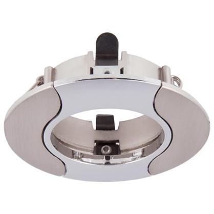 Спот встраиваемый Power Light 6172/1-4SCH цоколь GU5.3 50 Вт цвет никель/хром