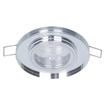 Спот встраиваемый Power Light 6194/1-4CH  цоколь GU5.3 50 Вт цвет хром/стекло