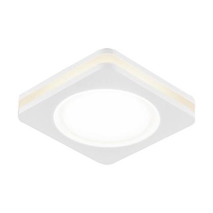Спот встраиваемый светодиодный Contorno 1х5 Вт 450 Лм IP20 цвет белый