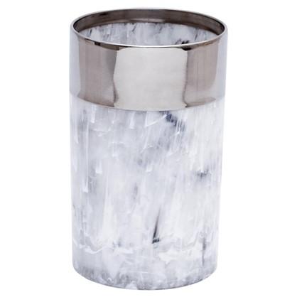 Стакан для зубных щеток настольный Allure полистирол цвет серый