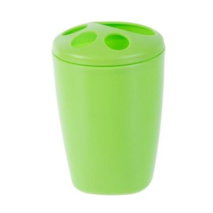Стакан для зубных щеток настольный Беросси Aqua пластик цвета в ассортименте