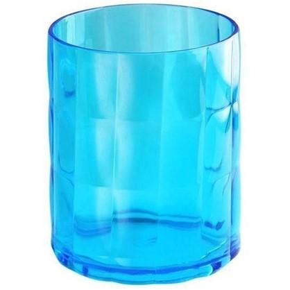 Стакан для зубных щеток настольный Verran Sole акрил цвет синий