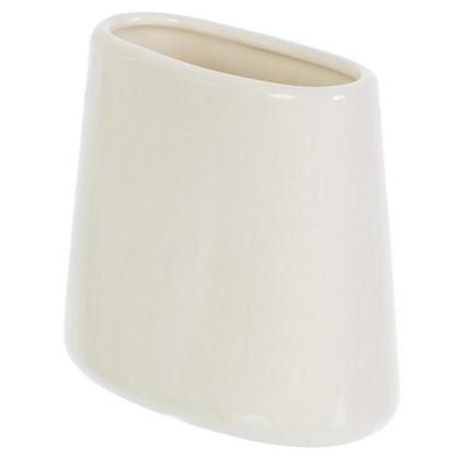 Стакан для зубных щеток настольный Veta керамика цвет ваниль