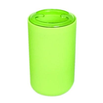 Стакан для зубных щеток настольный Vidage Parma пластик цвет зеленый