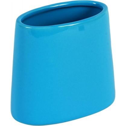 Стакан для зубных щеток Veta керамика цвет бирюзовый