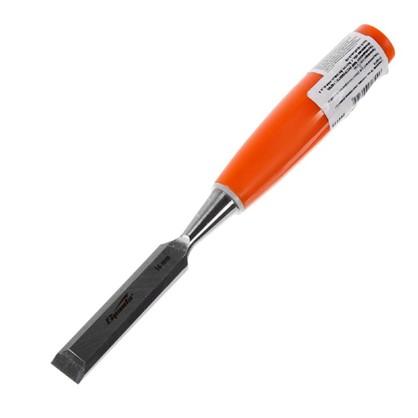Стамеска плоская Sparta 16 мм с пластиковой ручкой