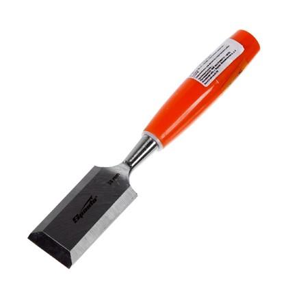 Стамеска плоская Sparta 38 мм с пластиковой ручкой