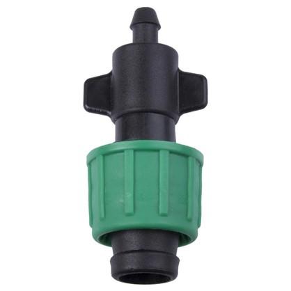 Старт-коннектор 6 мм для капельной ленты 16 мм