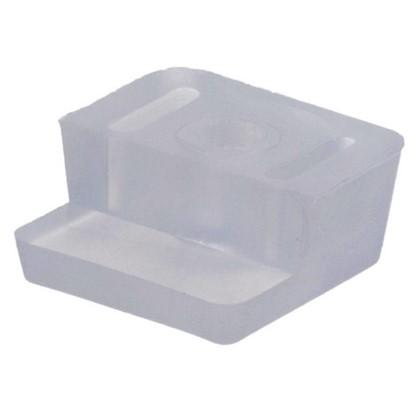 Стеклодержатель пластик бесцветный 8 шт.