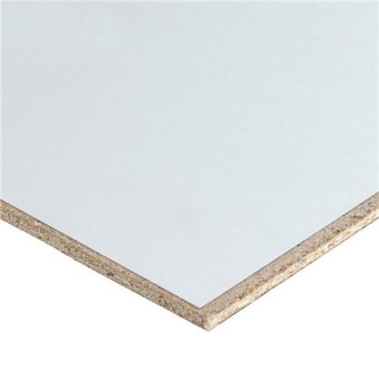 Стеновая панель 1000 305х0.6х65.5 см ЛДСП цвет белый