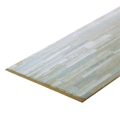 Стеновая панель 4075 60х0.6x300 см ДСП цвет арвика