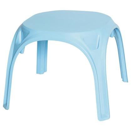 Стол детский голубой пластиковый