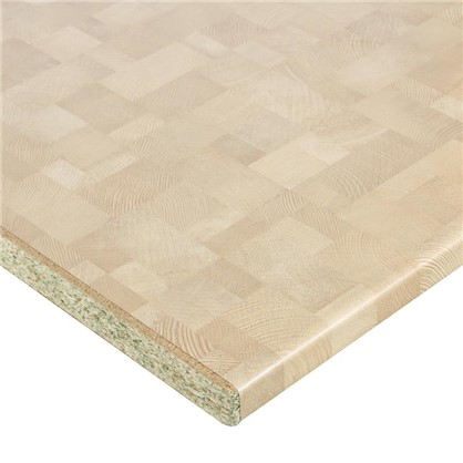 Столешница №2044 300х3.8х60 см ДСП цвет деревянный брус