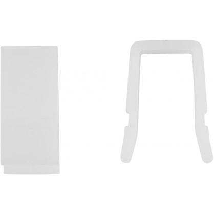 Стопор для пластикового карниза 350 см пластик цвет белый
