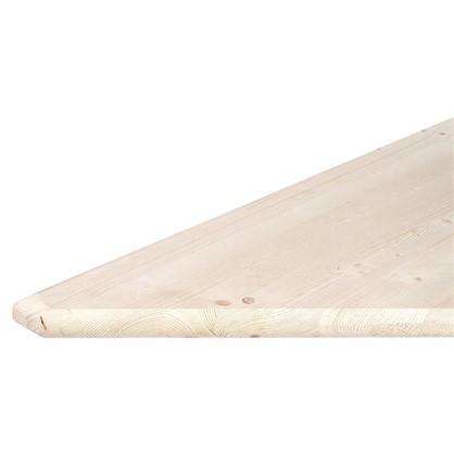 Ступень треугольная 45° 40x900x900 мм хвоя сорт АВ