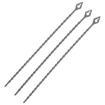 Стяжка многоразовая 3х150 мм нейлон 50 шт.