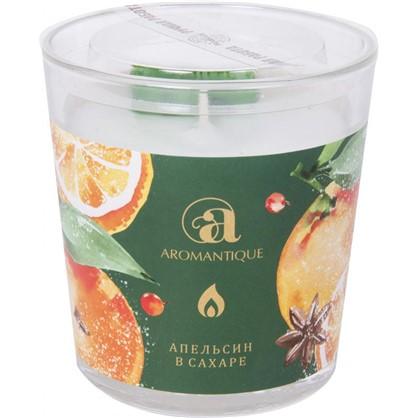 Свеча ароматизированная Апельсин в сахаре
