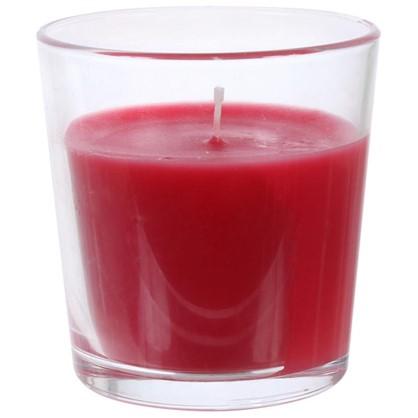 Свеча ароматизированная в стакане Клубника