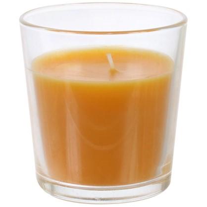 Свеча ароматизированная в стакане Персик