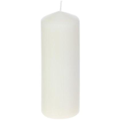 Свеча-столбик 7/20 см цвет бежевый